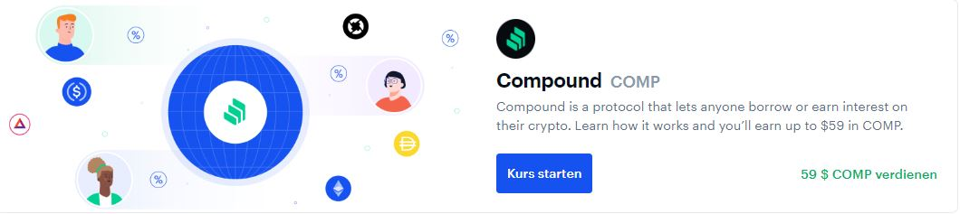 earn compound coinbase earn